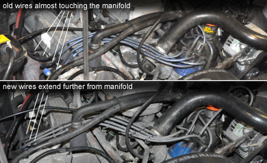NAS Defender 110 Spark Plugs and Plug Wires on air filter, bad base, electronic control unit, fuel pump, timing belt, oil pump, bad screen, bad butterfly, engine control unit, ignition timing, bad line, bad actuator, fuel filter, bad battery, ignition coil, bad thermostat, bad receptacle, spark gap, exhaust system, bad bearing, bad latch, bad starter, fuel injection, bad relay, ignition system, bad sod,